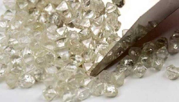 De Beers of rough diamonds