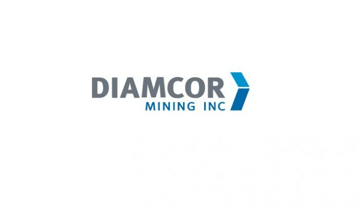 Diamcor Mining Inc Announces Results of Tender And Achieves
