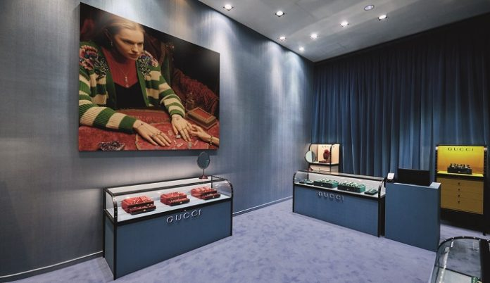 Gucci watch and jewellery pop-up