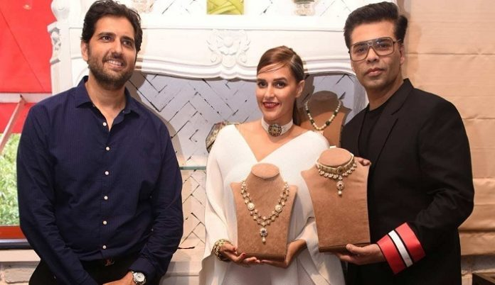 Karan Johar launches an online destination for jadau and polki jewellery