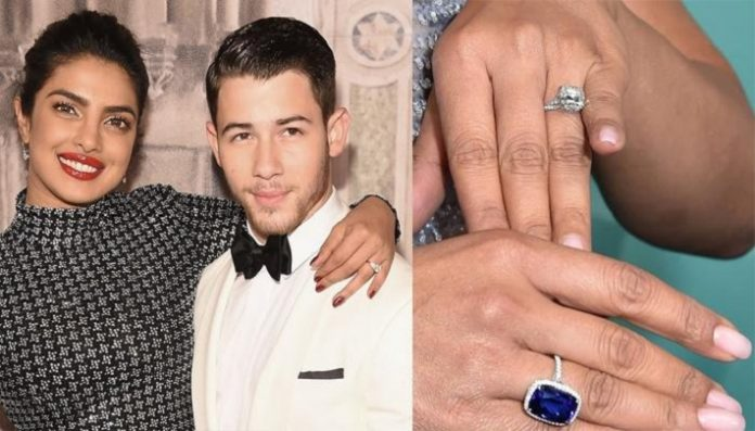 Priyanka Chopra Engagement Ring From Tiffany