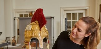 School of Jewellery helps to reconstruct Staffordshire Hoard Helmet
