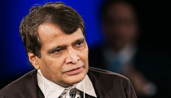 Suresh Prabhu Minister of Commerce and Industry