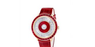 Fabergé Presents the Dalliance GemAddict Timepiece