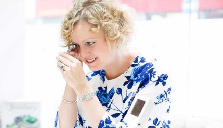 Helen Dimmick, (Royal Asscher, Jewelers Mutual, JSA)