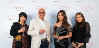 Sangeeta Deewan , C K Venkatraman , Gauri Khan and Monisha Jaisingh at Zoya South EX Store