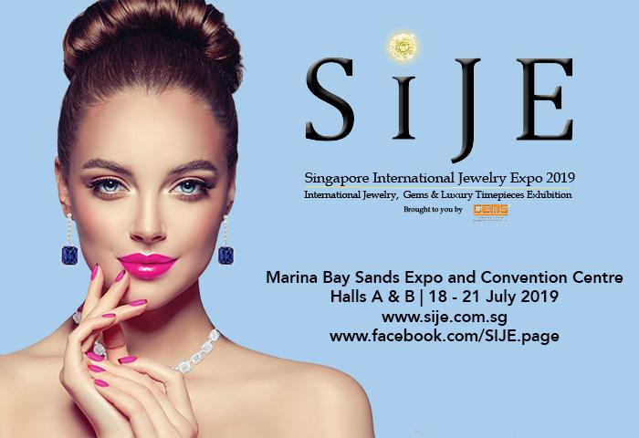 Singapore International Jewelry Expo 2019