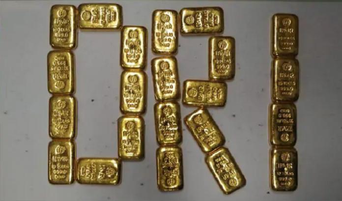 DRI gold smuggled into India from Dubai, Sri Lanka