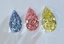 Fancy colour diamond