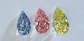 Fancy colour diamond