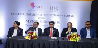 GJEPC's MSME Seminar at Signature IIJS