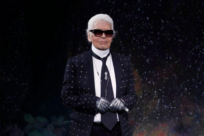 Iconic designer Karl Lagerfeld