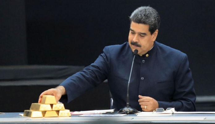 Venezuela trying to sell gold to stay afloat