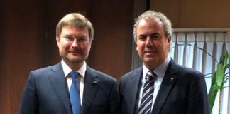Yoram Dvash And Sergey Ivanov Alrosa