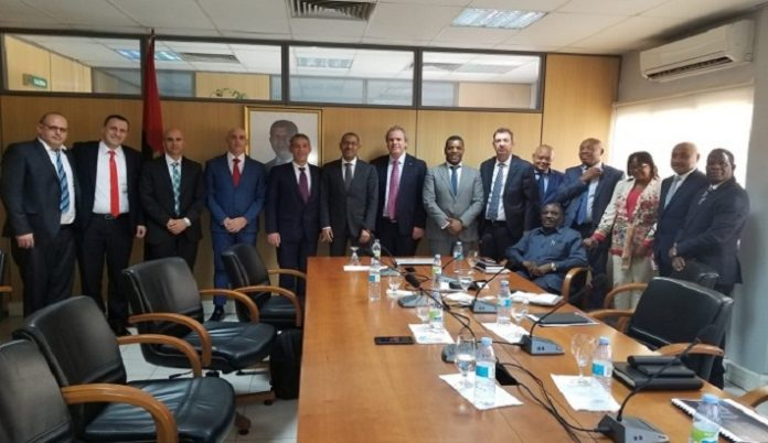 IDE leaders concluded successful visit to Angola with promise of increased rough supply