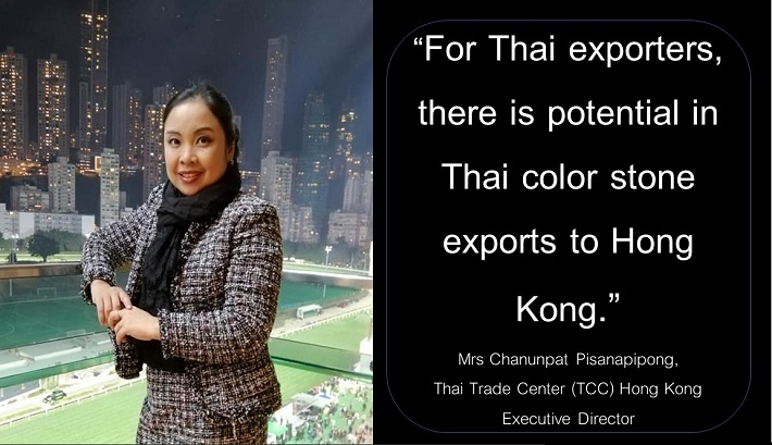 Mrs Chanunpat Pisanapipong, Thai Trade Center (TTC) Hong Kong Executive Director