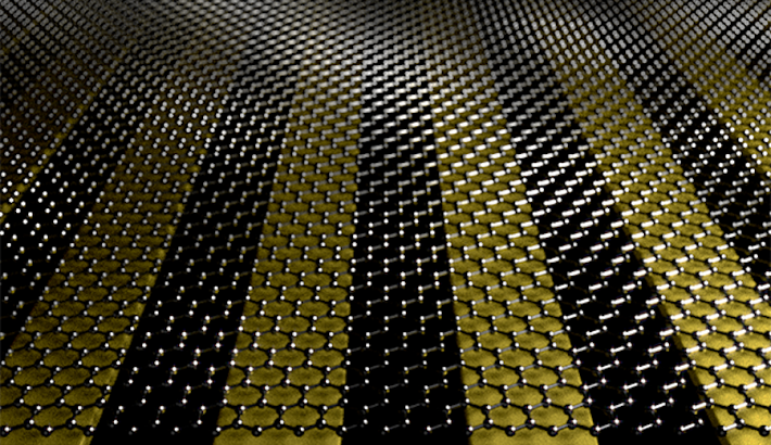 graphene on gold strips crop