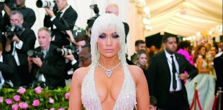 Stars play with vibrant gemstones and statement necklaces at 2019 Met Gala