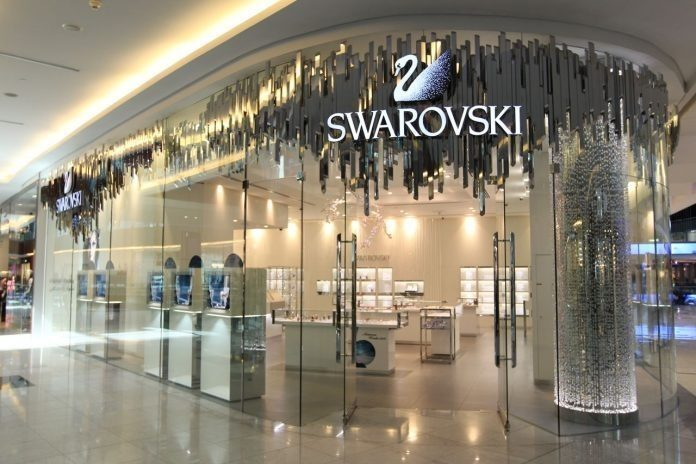 Swarovski sparkles in Edinburgh with new store opening