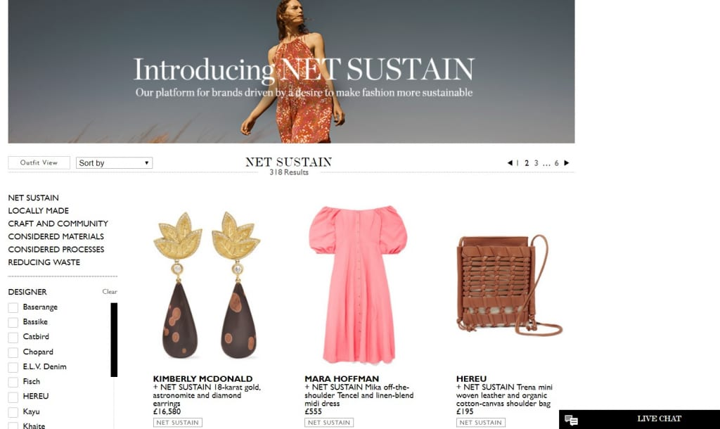 Consumers Can Now Shop A Dedicated Curation Of Sustainable Products.