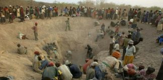 Artisanal mining blood diamonds