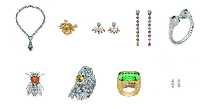 Gucci Gemstone Jewelry