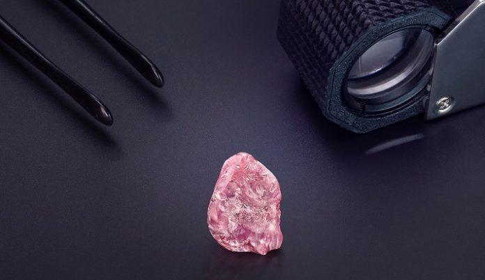 Graff reveals polished Lesotho Pink