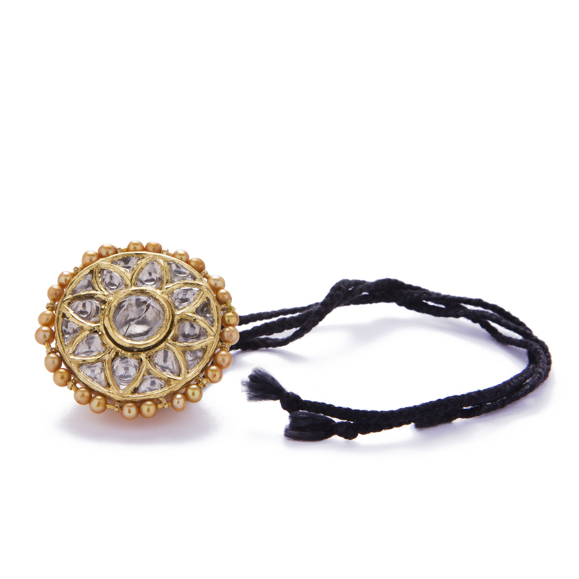 Rajput brides kundan polki jewellery
