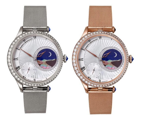 From left Tefnut Sleeping Beauty in 18ct rose gold and white gold prices on request Moritz Grossmann williamandsoncom