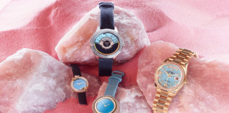 Why bold and beautiful turquoise dials are making a comeback in women's watches1