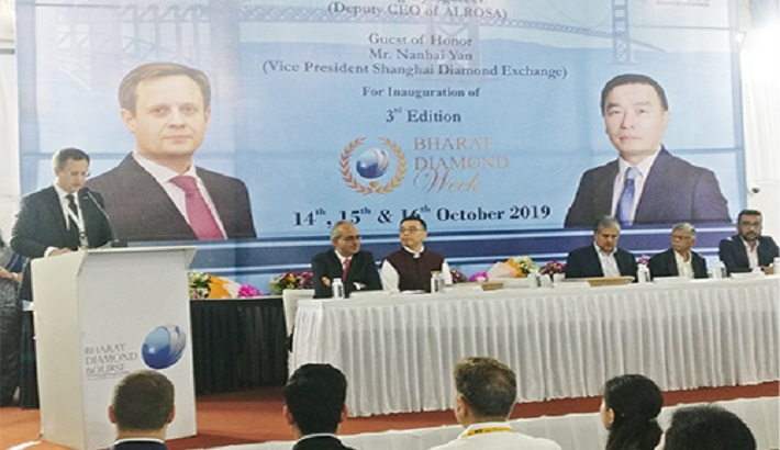 3rd Edition of Bharat Diamond Week Opens in Mumbai; Large Chinese Delegation at Show