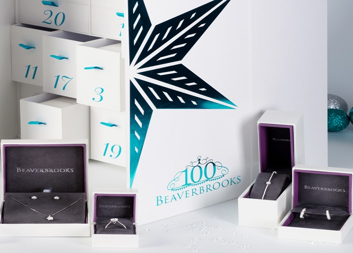 Beaverbrooks £100K diamond advent calendar features on This Morning