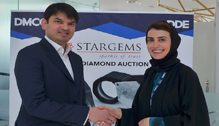 Stargems' Rough Diamond Tender at Dubai's DDE Takes in Almost US$ 50 Mn; Sets Record