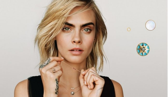 Supermodel Cara Delevingne becomes face of new Dior fine jewellery collection