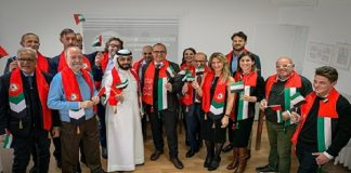 DMCC and Diamond Bourse of Italy Discuss Future of Trade on UAE National Day