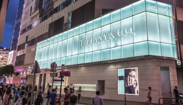 Tiffany Sales Hit by Hong Kong Unrest