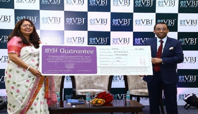 VBJ launches GIA certified guarantee card for diamonds screened using GIA melee analysis service