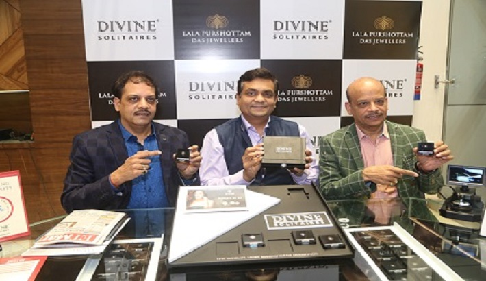Divine Solitaires' exciting solitaire offer at Lala Purshottam Das Jewellers at Kanpur