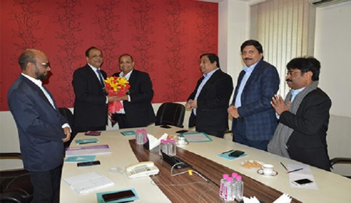 GJEPC Delegation Led by Chairman Pramod Kumar Agrawal Holds Meeting with MMTC Chairman Ved Prakash