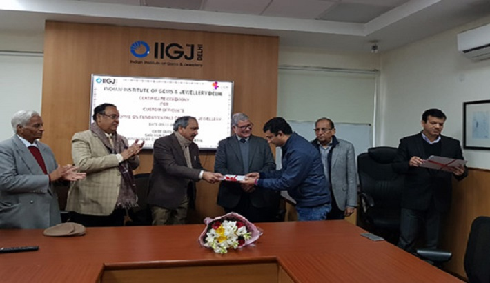 GJEPC Delhi Conducts Training for Customs Officials on Fundamentals of Gems & Jewellery