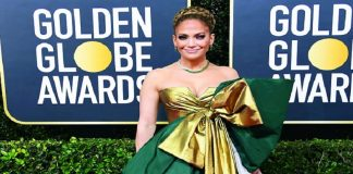 GOLDEN GLOBES Necklaces and coloured gemstones shine for 2020