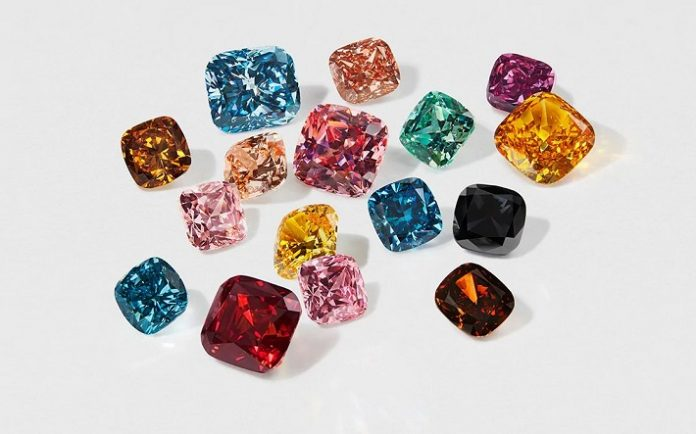 Swarovski's extraordinary debut in the world of diamond involves new cuts and colours