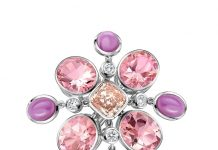 Atelier Swarovski debuts pink lab-grown diamonds fit for a queen at 2020 BAFTAs