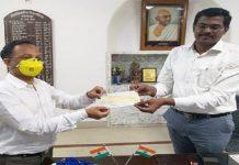 Aisshpra Gems and Jewels on behalf of Aisshpra Foundation Donates 11 Lakhs for Coronavirus Rescue in Gorakhpur