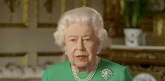 Queen Chooses Turquoise and Diamond for Coronavirus Address