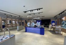 Swarovski introduces 'Crystal Studio' concept to the UK