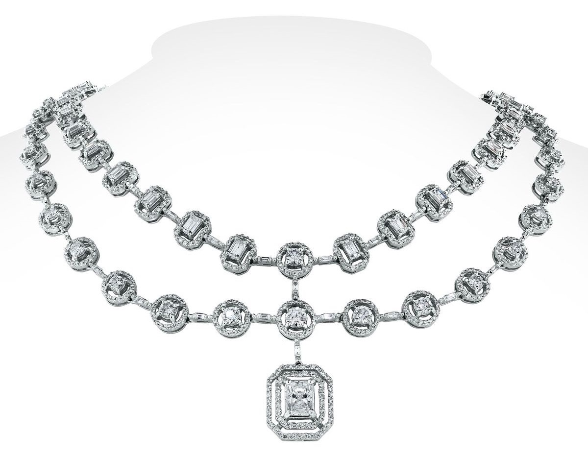 Diamond cuts blend for timeless holiday jewels, with Beauvince Jewelry