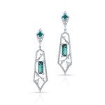 Stephen Silver Fine Jewelry Indicolite Tourmaline Drop Earrings