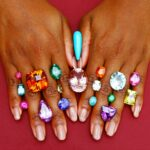 Alexia Connellan Hands with Loose Gemstone. V2