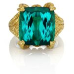 Ophelia Ring by Alexia Connellan. Front View